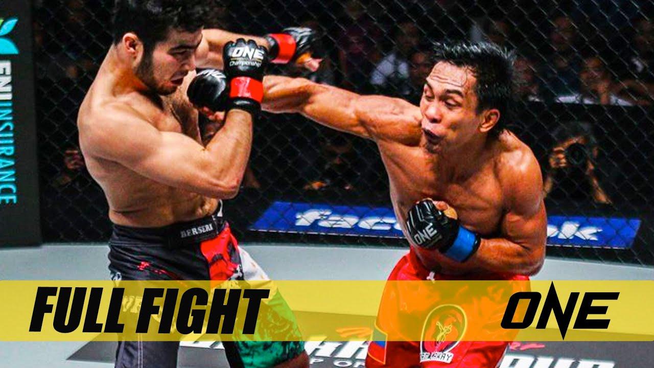Kevin Belingon vs. Muin Gafurov   Full Fight Replay