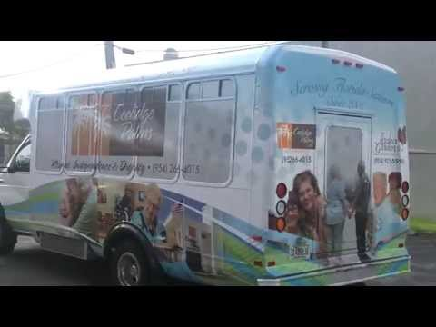 ford-shuttle-bus-vehicle-wrap-fort-lauderdale-florida-for-assisted-living-resort-coolridge-palms