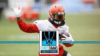 Which NFL team has best receiving group? | Chris Simms Unbuttoned | NBC Sports