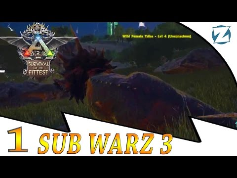 Ark Survival Of The Fittest SubWarz 3 - E1 - Sleeping Beauty