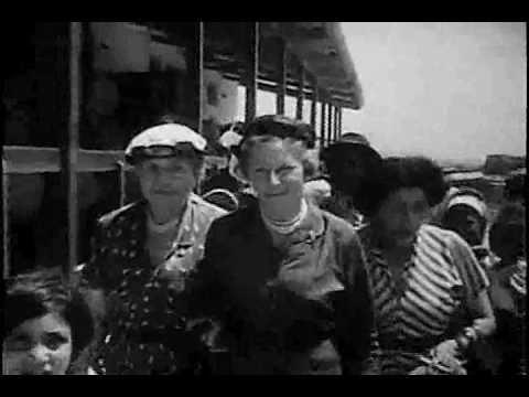 HELEN KELLER VISITS JAPAN & ISRAEL (clip)