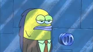 Spongebob and Patrick rob a bank