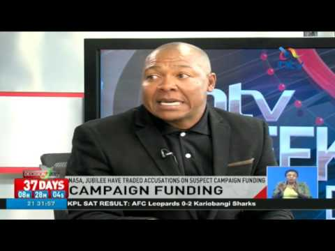 NASA, Jubilee have traded accusations on suspect campaign funding