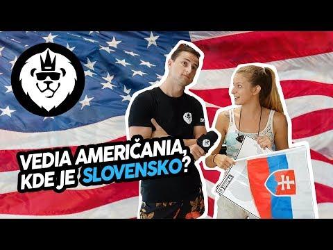 Vedia Američania kde je Slovensko ? | EMEFKA (Titulky)
