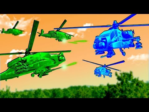 Intense Green Army Men AIR CAVALRY Battles in This Toy Soldiers Game! |