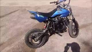 125/140cc turbo pitbike