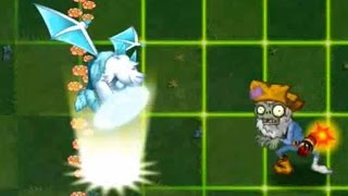 Plants vs Zombies 2 - Cold Snapdragon atttack animation (Unfinished)