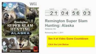 Remington Super Slam Hunting Alaska Wii Countdown
