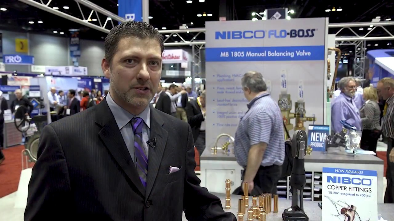 NIBCO Introduces New Products at AHR Expo 2018