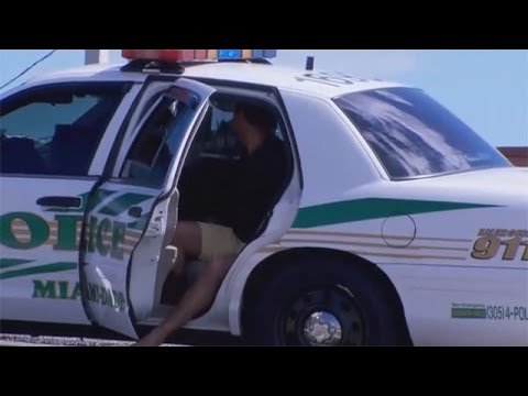 Handcuffed Stole Police Car ☠ Police Chase Compilation 2015