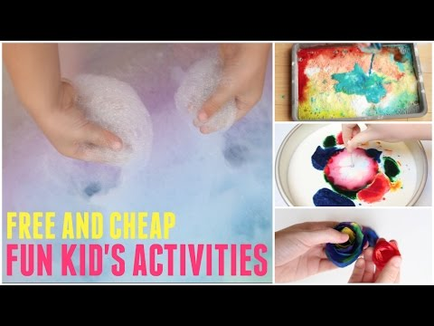 Fun Kid's Activities: What to Do When You're Bored at Home!