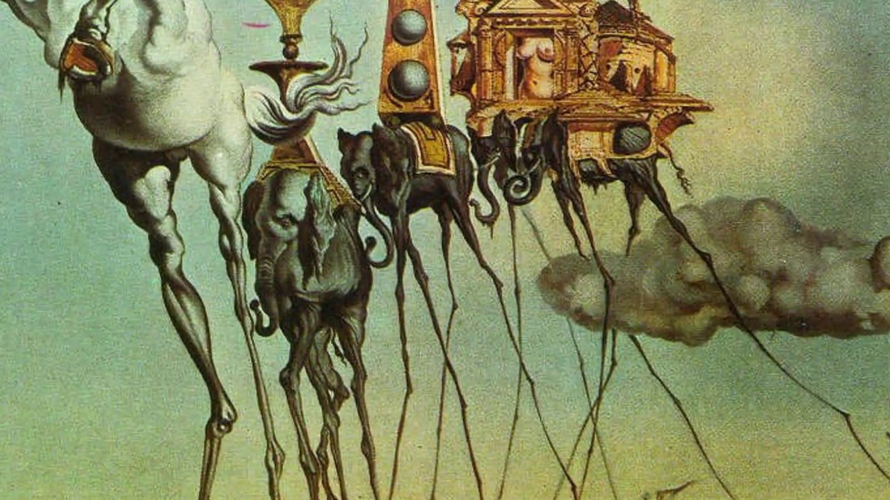 surrealism research task Uses media, techniques, tools, and processes to communicate an idea or concept based on research  and processes to complete a desired task  surrealism style.