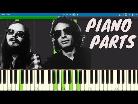 Steely Dan - Deacon Blues - Piano Parts ONLY - Tutorial