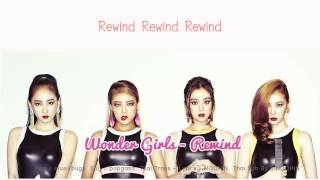 [Thai sub] Wonder Girls - Rewind