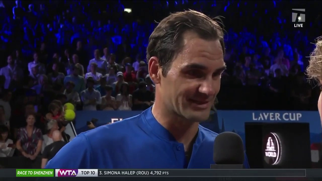 Tennis Channel Live: Roger Federer Defeats Nick Kyrgios Day 2, 2019 Laver Cup