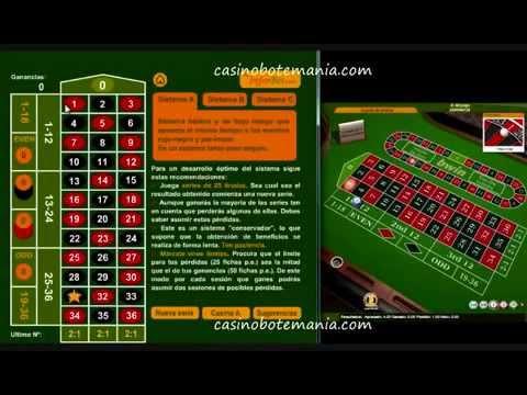 Ruleta electronica casino jugar