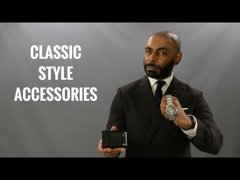10 Men's Accessories That Never Go Out Of Style/Most Classic Men's Accessories