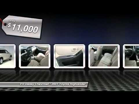 2001 Toyota Highlander FH Dailey Chevrolet - Bay Area - San Leandro CA 801