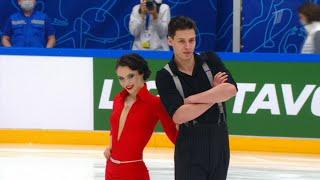 Аннабель Морозова Андрей Багин Ритм танец Кубок Первого канала по фигурному катанию 2021
