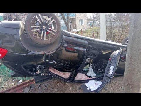 ДТП в Кобрине, водитель погиб Porsche Cayenne (31.03.2020)