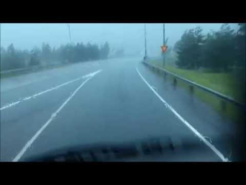 Ukkoskuuro Turussa,  Thunder storm in Turku 31 07 2014
