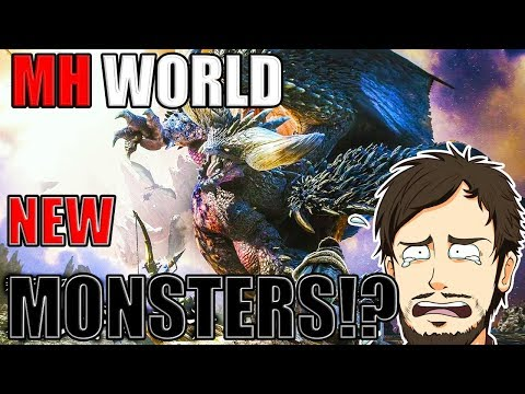 ►Monster Hunter World TGS 2017 Trailer►Reaction►NEW MONSTERS!?