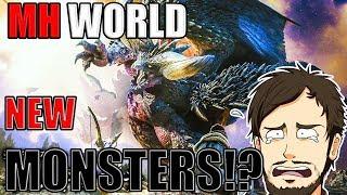 ►Monster Hunter World TGS 2017 Trailer►Reaction►NEW MONSTERS!?