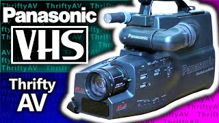 Vintage Video: Panasonic OmniMovie VHS HQ Camcorder