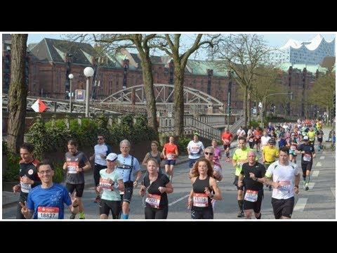 Hamburg Marathon 2018: Ihr Bild vor der Elbphilharmonie