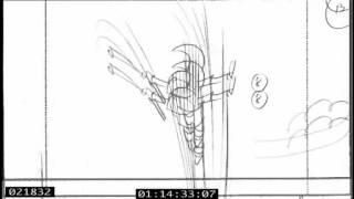 "Ivaylo Ivantchev: Storyboard for ""Master Raindrop"" Ep109"