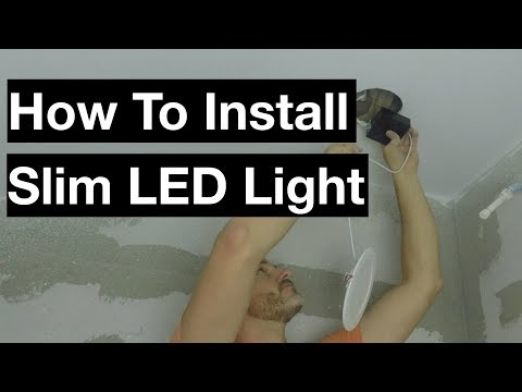 How to Install Globe Ultra Slim LED Recessed Light from YouTube · Duration:  8 minutes 26 seconds