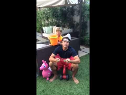 Joshua Morrow  ALS Ice Bucket Challenge