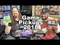 NEW GAME Pickups for 2018 - 47 Games from Reggie & Metal Jesus