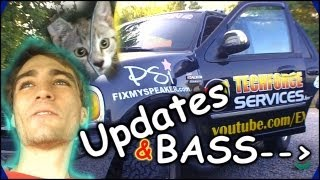 EXO Car Audio Updates & HHR BASS FLEX w/ Michelles Loudest Stereo System YET! 2 15