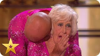 Salsa stars Paddy and Nicko get David's Golden Buzzer! | BGT: The Champions