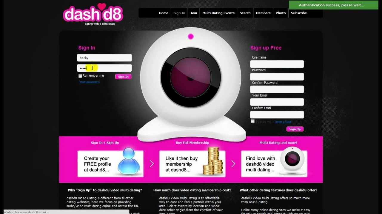 speed dating online uk