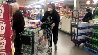 Experts say it may be time for grocery stores to ban customers from coming inside because of Cov...