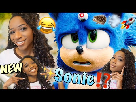 SONIC THE MOVIE!! [TRAILER REACTION+REVIEW!!!]