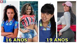 Top 15 Meninas que mais mudaram de Chiquititas