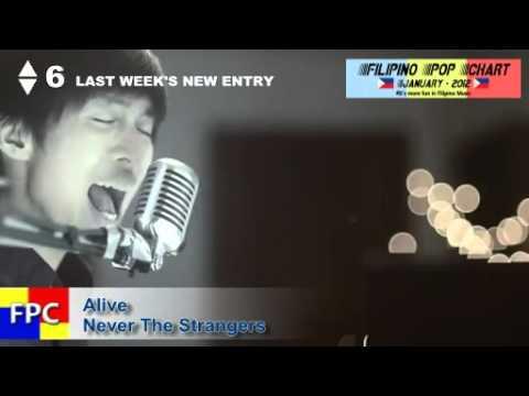 Filipino Pop Chart - 2012 of January (Top 20 Philippine Songs)