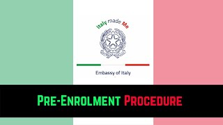 This video is about the procedure to apply for pre-enrolment at universitaly. year instead of doing embassy, students are required d...