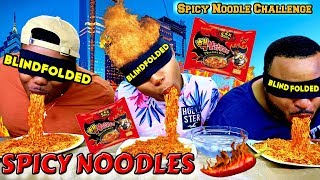 blind no hands 2x spicy noodle challenge failed