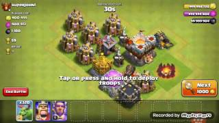 320 baby dragons atack v CLASH of CLANS