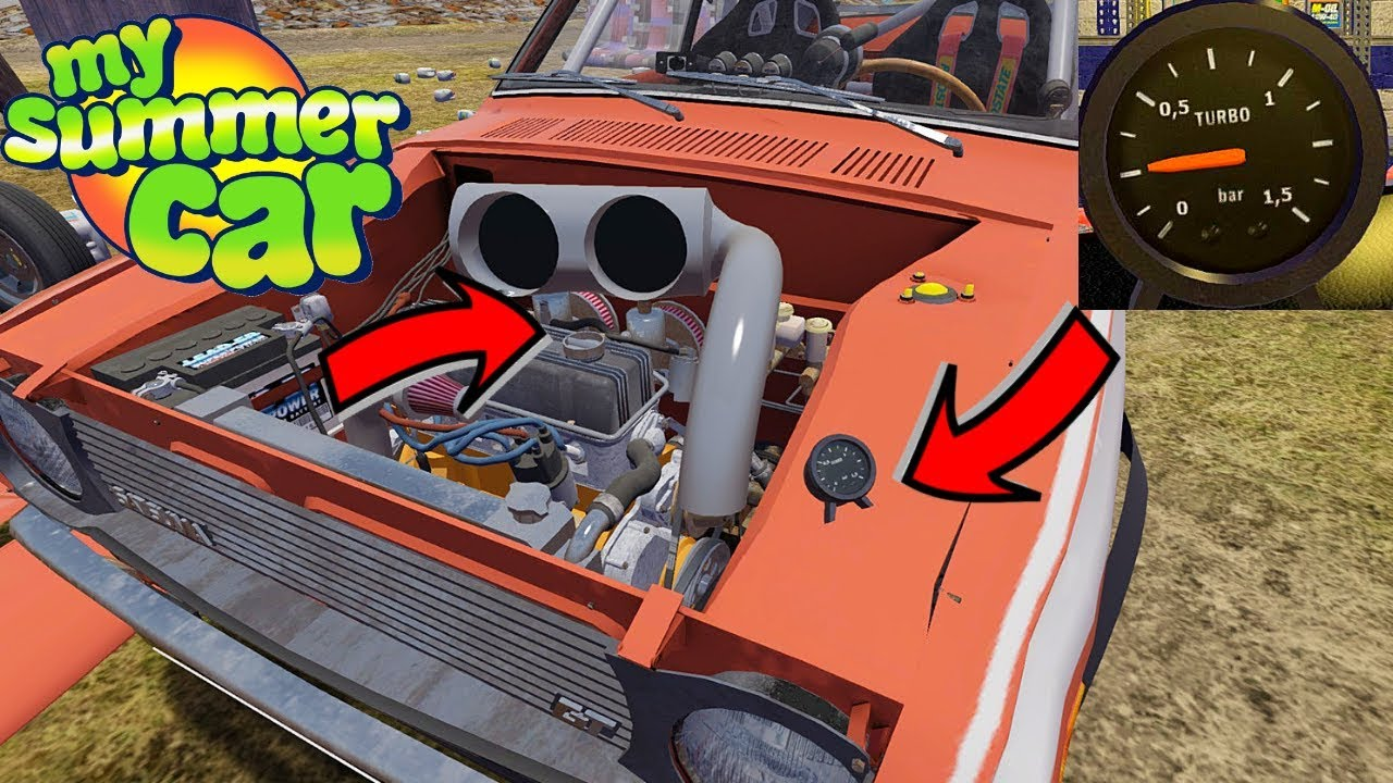Turbo Updated Version Whats New My Summer Car 167 Mod