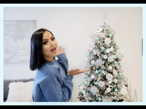 DECORATE WITH ME: CHRISTMAS TREE 2018 SILVER GLAM