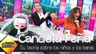 Candela Peña comenta con Trancas y Barrancas su curiosa teoría  - El Hormiguero 3.0