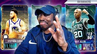 getting DIAMOND RAINMAKERS in PACK OPENING! NBA 2K Mobile Season 2 Ep. 20