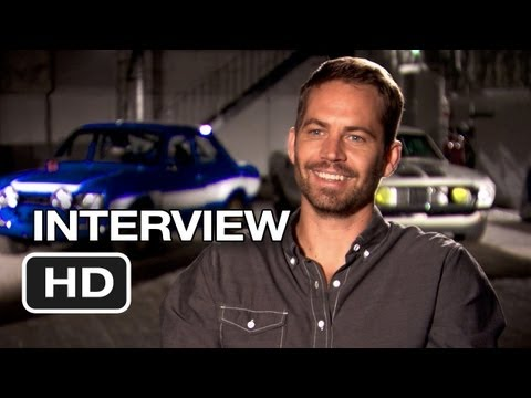 Fast & Furious 6 Interview - Paul Walker (2013) - Vin Diesel Movie HD