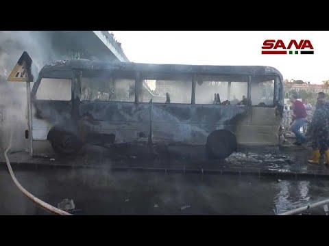 13 قتيلاً حصيلة تفجير استهدف حافلة في دمشق و8 قتلى في قصف للجيش السوري على ريف إدلب  - نشر قبل 4 ساعة