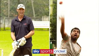 What's it like to face a Murali spin delivery? | Muttiah Muralitharan Bowling Masterclass | Part 2